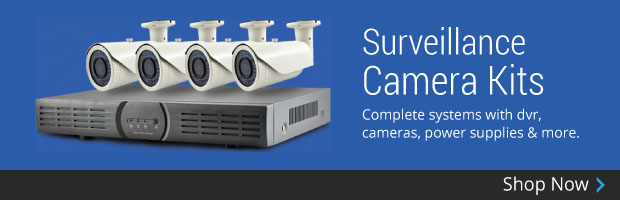 Surveillance Camera Kits - Shop Now!