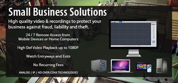 Discount Small Business Security Solutions