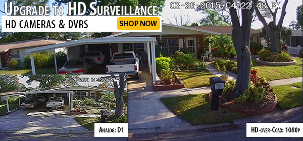 HD-CVI Security Cameras & DVRs