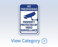 CCTV Video Surveillance Warning Signs