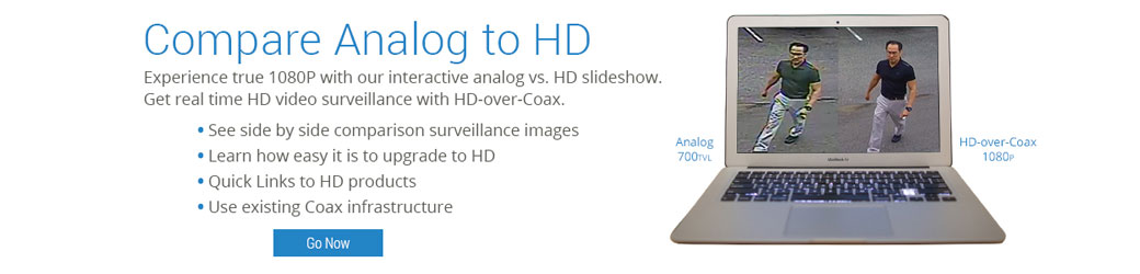 Compare Analog To HD-over-Coax