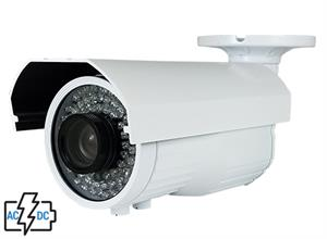 2.4 Megapixel Dual Voltage, Dual Video Long Range Bullet Camera