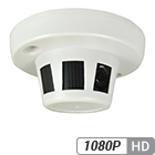 2 Megapixel 1080P Smoke Detector Hidden Camera