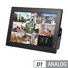 8 Camera D1 Analog DVR + Monitor Combo