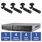 4 camera analog system