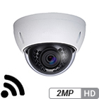 Wireless 2 Megapixel Network Armor Dome Camera