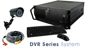 4 Camera color digital video recorder cctv system