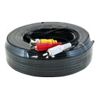 65ft plug and play CCTV cable - black