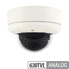 630TVL Infrared Varifocal Armor Dome Camera
