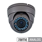 700TVL Analog Infrared Varifocal Armor Dome Camera