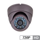 720P HD-over-Coax Vandal Proof Armor Dome Camera