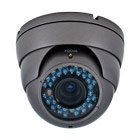 medium resolution varifocal infrared dome security camera