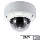 3MP Infrared Armor Dome IP/Network Camera