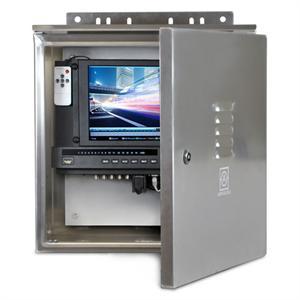 Dwpnvr8a 8 Channel Complete Weatherproof Nvr Solution