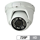 HD-over-Coax Vandal Proof Night Vision Dome Camera